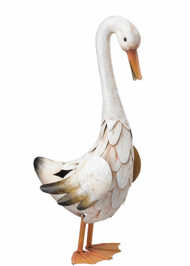 Medium Metal Duck Decor - Click to enlarge