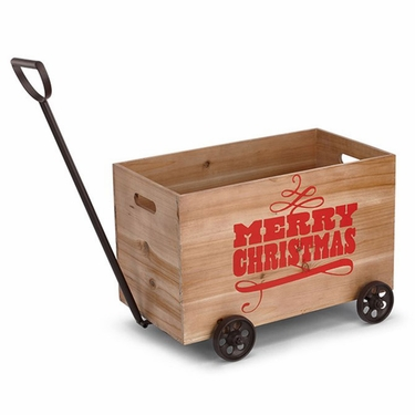 Merry Christmas Wagon - Click to enlarge