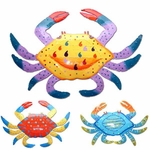 Metal Crab Wall Decor