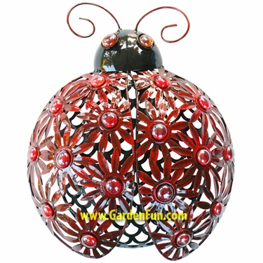 Metal Filigree Ladybug Wall Decor - Click to enlarge