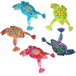 Metal Frog Friends (Set of 5)