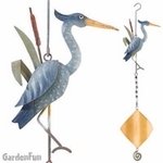 Metal Heron Twirly