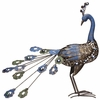 Metal Peacock Bird