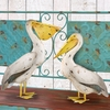 Pelican Birds Mixed Pair (Set of 2)