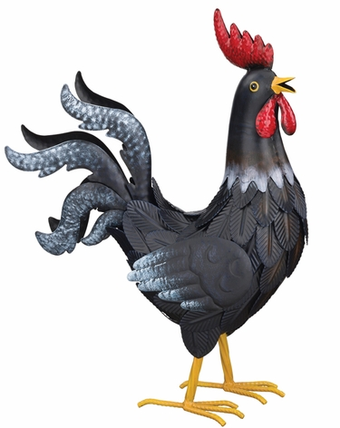 16 Black Rooster Decor Only 49 95 At