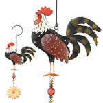 Metal Rooster Twirly