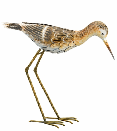 Metal Sandpiper Bird - Down - Click to enlarge