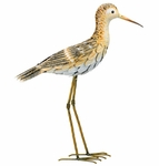 Metal Sandpiper Bird - Upright