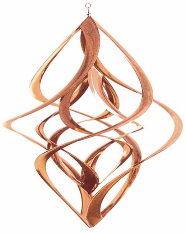 Metal Wind Spinner - Copper Cosmix - Click to enlarge