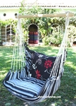 Metropolitan Summer Toile Flower Hammock Chair Swing Set