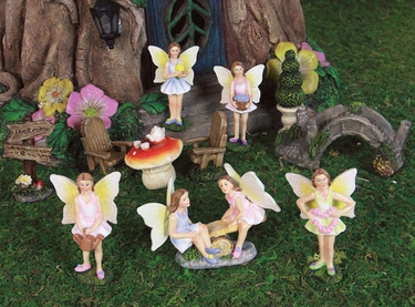 Mini Fairy Garden Kit (11pc Set) - Click to enlarge