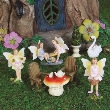 Mini Fairy Garden Kit (8pc) - Click to enlarge