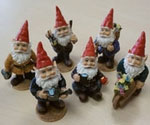 Miniature Garden Gnomes (Set of 12)