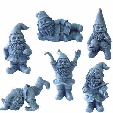 Miniature Gnome Set (6-pc) - Click to enlarge