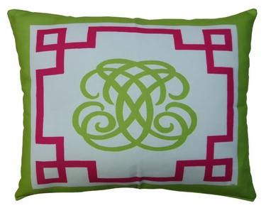 Monogram Outdoor Pillow - Click to enlarge