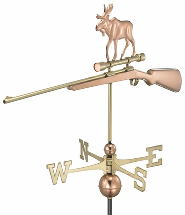 Moose Hunting Weathervane - Click to enlarge