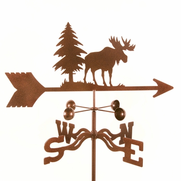 Moose Weathervane - Click to enlarge