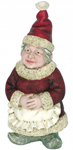Mrs. Claus Garden Gnome