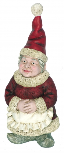 Mrs. Claus Garden Gnome - Click to enlarge