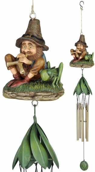 Musical Gnome Wind Chime - Click to enlarge
