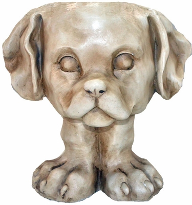 Muttley Dog Planter - Click to enlarge