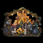 Nativity Decor w/LED Lights
