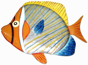 Necklace Butterfly Fish Wall Art - Click to enlarge