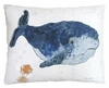 Ocean Whale Outdoor Pillow