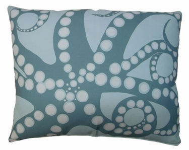 Octopus Meadow Outdoor Pillow - Click to enlarge