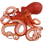 "32"" Insanely Amazing Octopus Wall Decor"