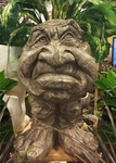 Ole Grumpy Face Planter - Stone Wash Finish