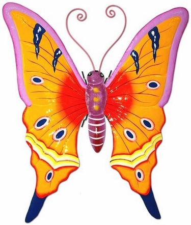 Orange Butterfly 3D Wall Art - Click to enlarge