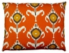 Orange Design Outdoor Pillow