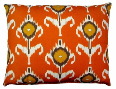 Orange Design Outdoor Pillow - Click to enlarge