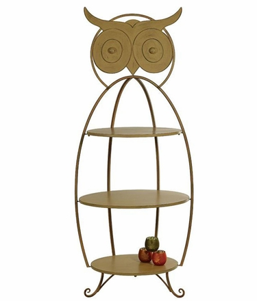 Owl Shelf Display Stand - Click to enlarge