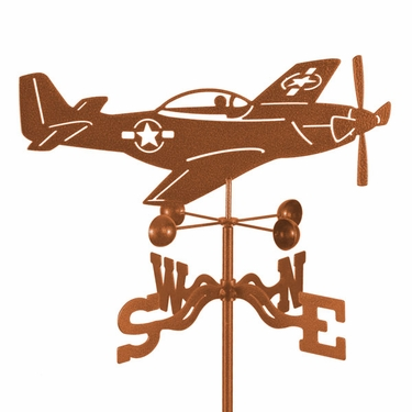 P-51 Weathervane - Click to enlarge