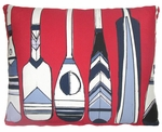 Paddles Outdoor Pillow