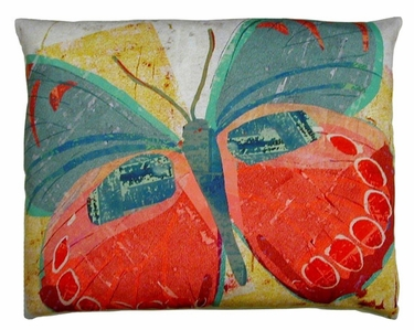 Paper Butterfly 3 Outdoor Pillow - Click to enlarge