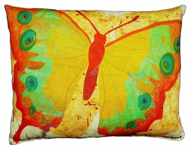 Paper Butterfly 4 Outdoor Pillow - Click to enlarge