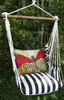 True Black Paper Butterfly Hammock Chair Swing Set
