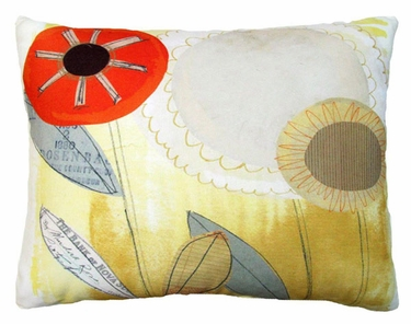 Paper Garden 3 Outdoor Pillow - Click to enlarge