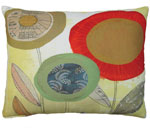 Paper Garden 5 Outdoor Pillow
