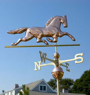 Patchen Horse Weathervane - Click to enlarge