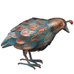 Patina Quail Bird - Feeding