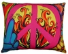Peace Outdoor Pillow