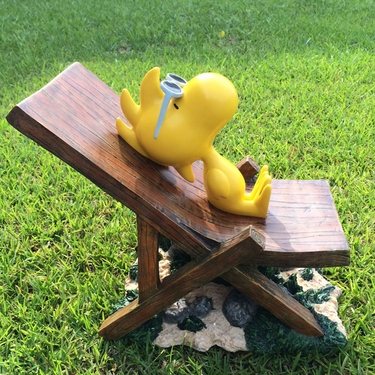 Peanuts Woodstock Sunbathing Statue - Click to enlarge