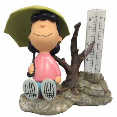 Peanuts Lucy Rain Gauge - Click to enlarge