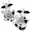 Cow & Bull Back Planters (Set of 2)
