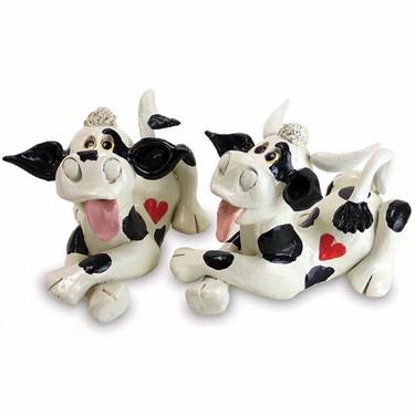 Cow & Bull Statues (Set of 2) - Click to enlarge