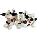 Cow & Bull Statues (Set of 2)